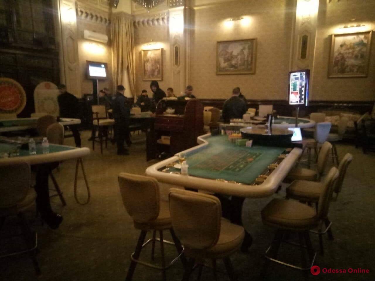 Представители майдановских организаций «накрыли» подпольное казино в Одессе