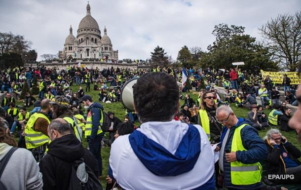 Во Франции прошла девятнадцатая акция протеста