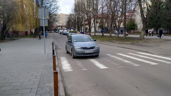 Во Львове автомобиль