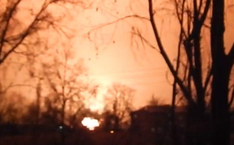 В Кропивницком на одной из газовых заправок прогремел взрыв