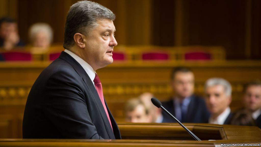 Петр Порошенко заявил, что намерен баллотироваться в Европарламент