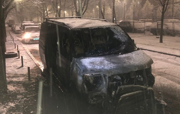 Депутату-националисту сожгли второй автомобиль за два месяца