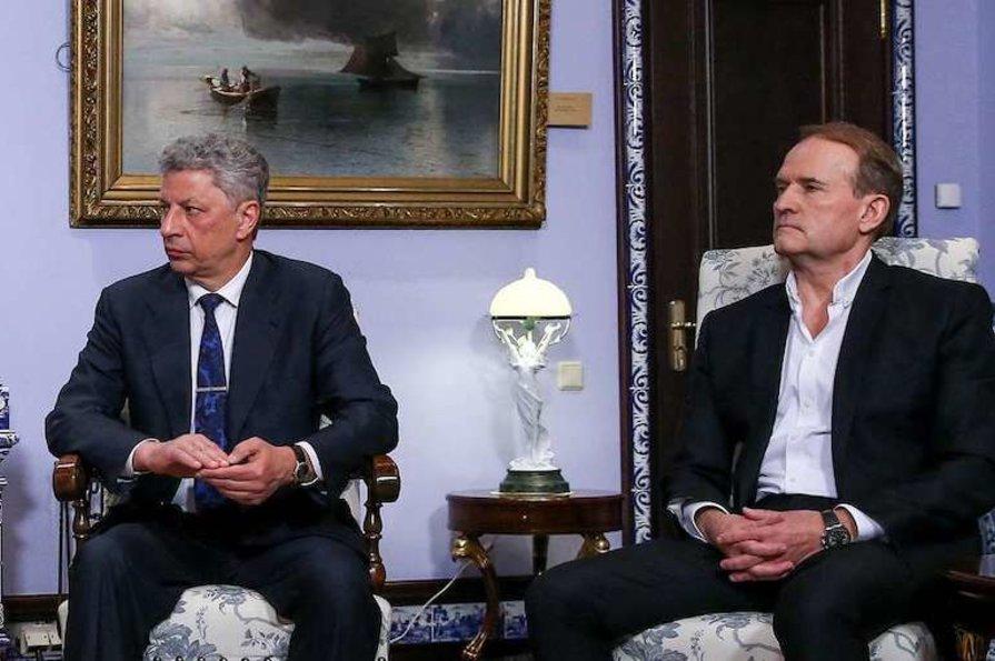 Полет Бойко и Медведчука в Москву: ГБР  открыло уголовное производство по факту возможного злоупотребления должностными лицами