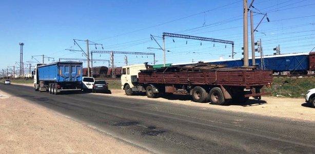В Одесской области с территории порта было вывезено около 10 тонн металла