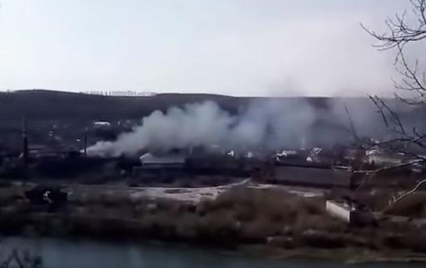 Пожар на сахарном заводе в Черновицкой области