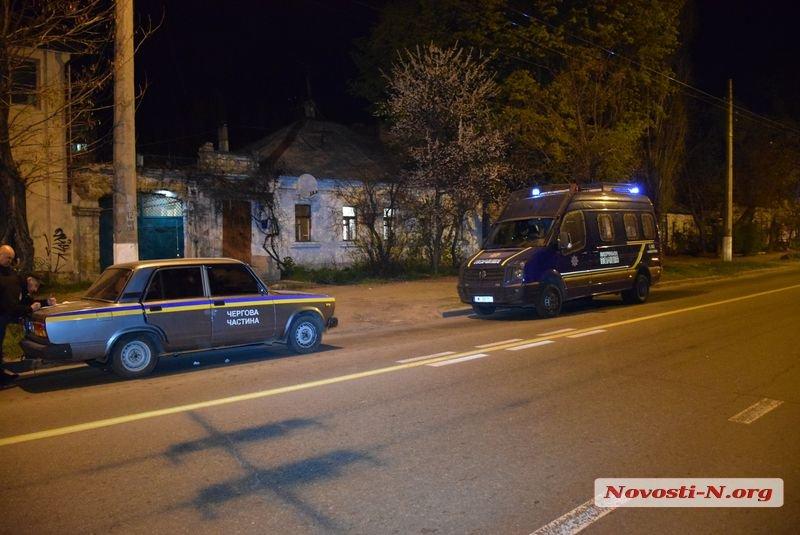 В Николаеве бойцы полицейского спецназа ТОР задержали продавца наркотиков