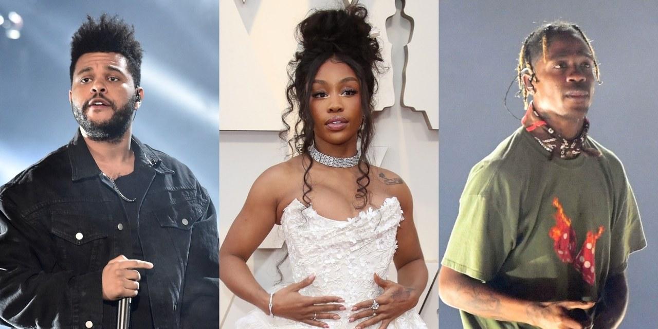 Рэперы The Weeknd, SZA и Трэвис Скотт записали песню для финала