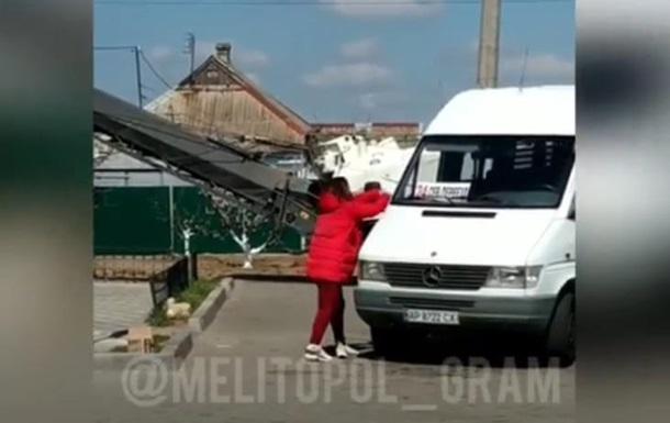 В Мелитополе неизвестная