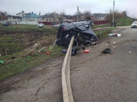 Не справился с управлением: в  ДТП под Харьковом погиб полицейский