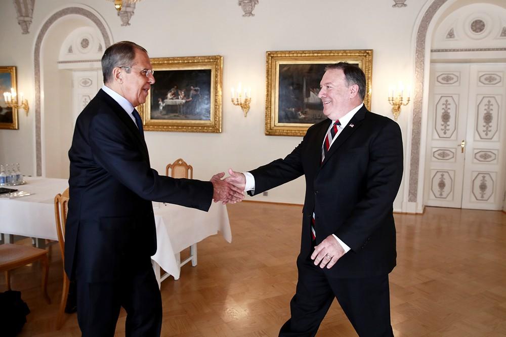 В Финляндии произойдет встреча министра иностранных дел РФ Сергея Лаврова и госсекретаря США Майкла Помпео