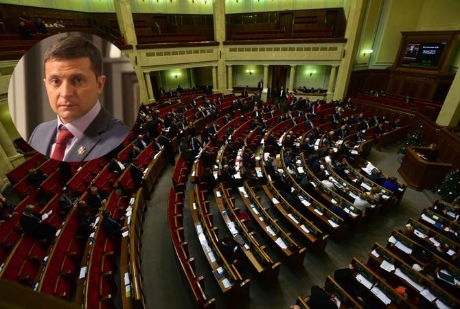 Зеленский и лидеры фракций не договорился про день инаугурации