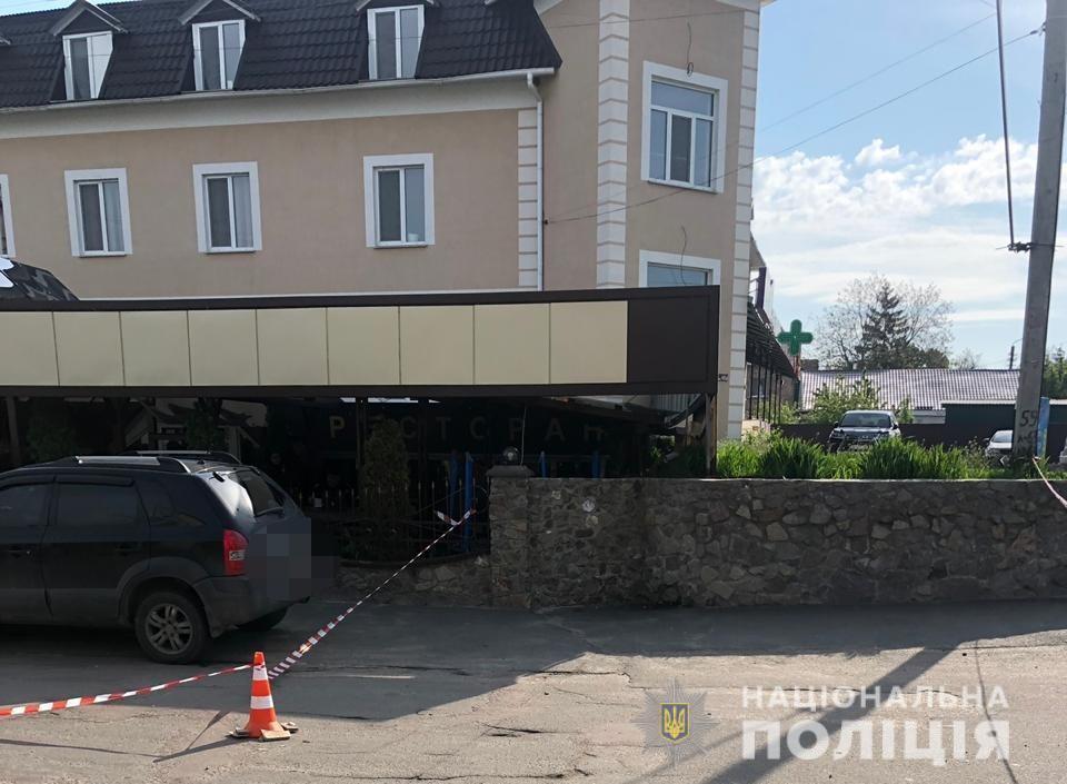 Расследование убийства майора нацполиции: задержаны двое вооруженных мужчин
