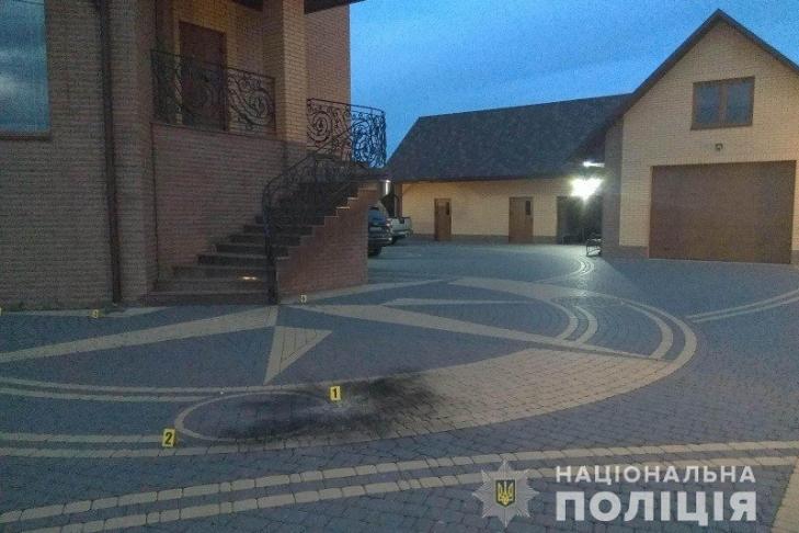 Во дворе депутата Волынского облсовета произошел взрыв