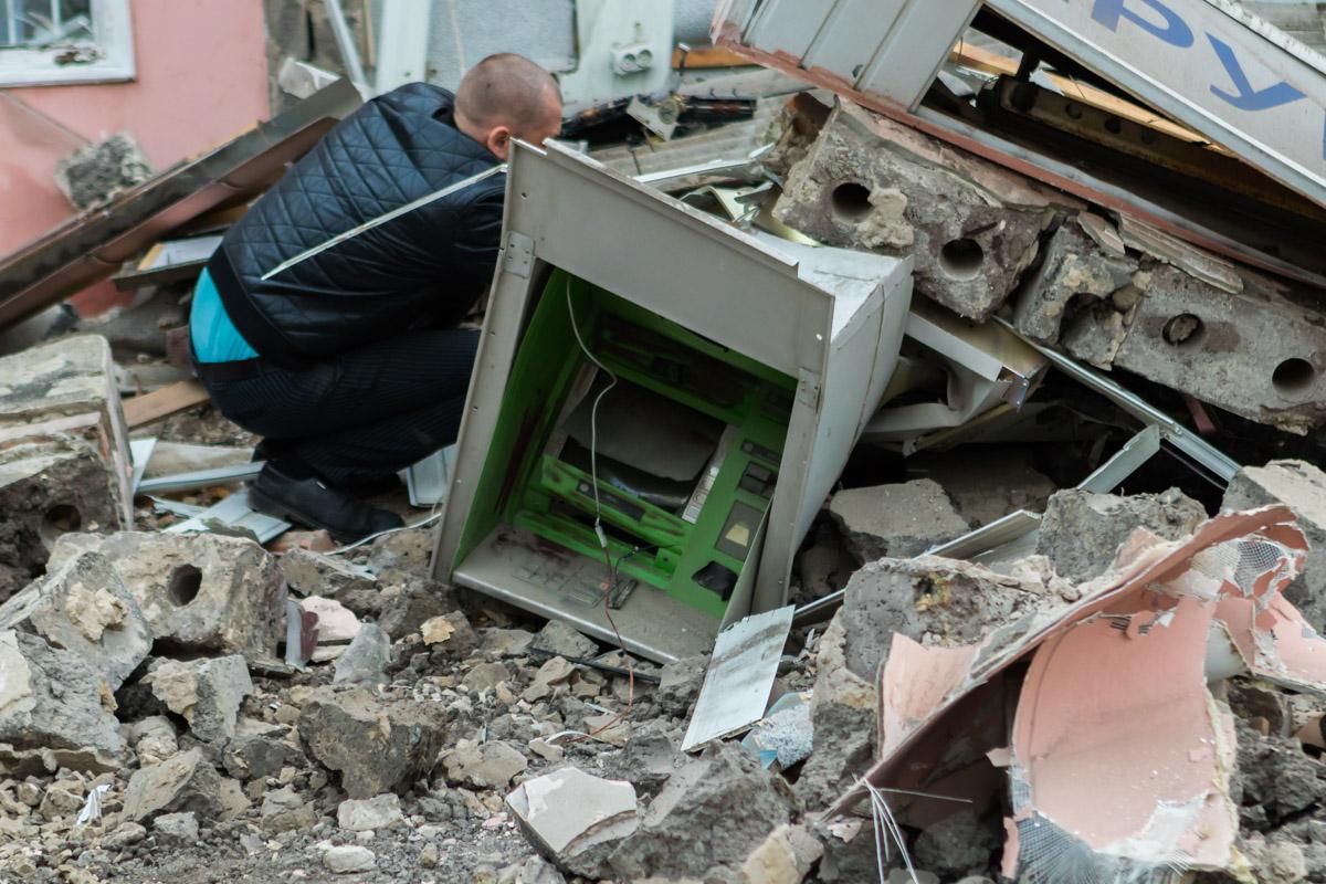 В Днепре распотрошили банкомат