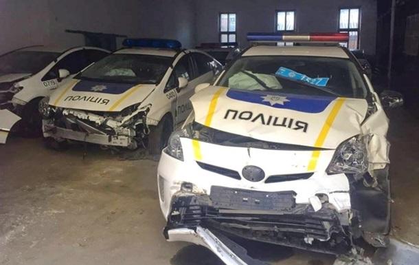 За время работы Национальной полиции разбито 1,3 тысяча приобретенных авто