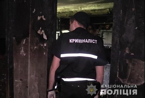 В Киеве произошел взрыв и пожар погиб человек
