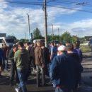 Протестующие перекрыли одну из крупнейших улиц Черновцов