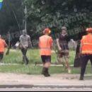 На столичной Борщаговке произошло столкновение между местными жителями и