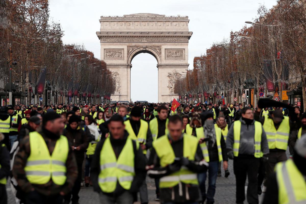 Франция: протесты