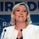 Марин Ле Пен лидирует на выборах в Европарламент во Франции
