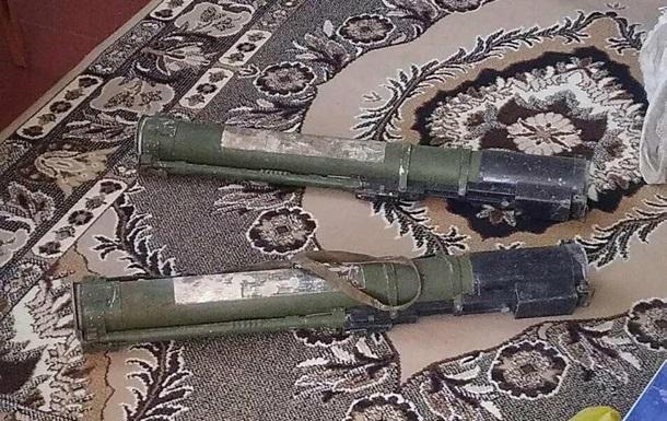 В Полтавской области у мужчины изъяли два ручных противотанковых гранатомета