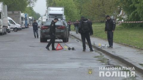 Во Львове произошел взрыв под автомобилем бизнесмена