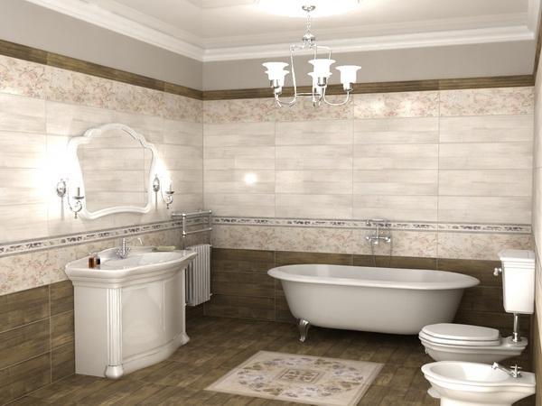 Широкий ассортимент плитки для вашей ванны