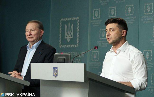 Зеленский назначил Кучму представителем президента Украины в минской переговорной группе