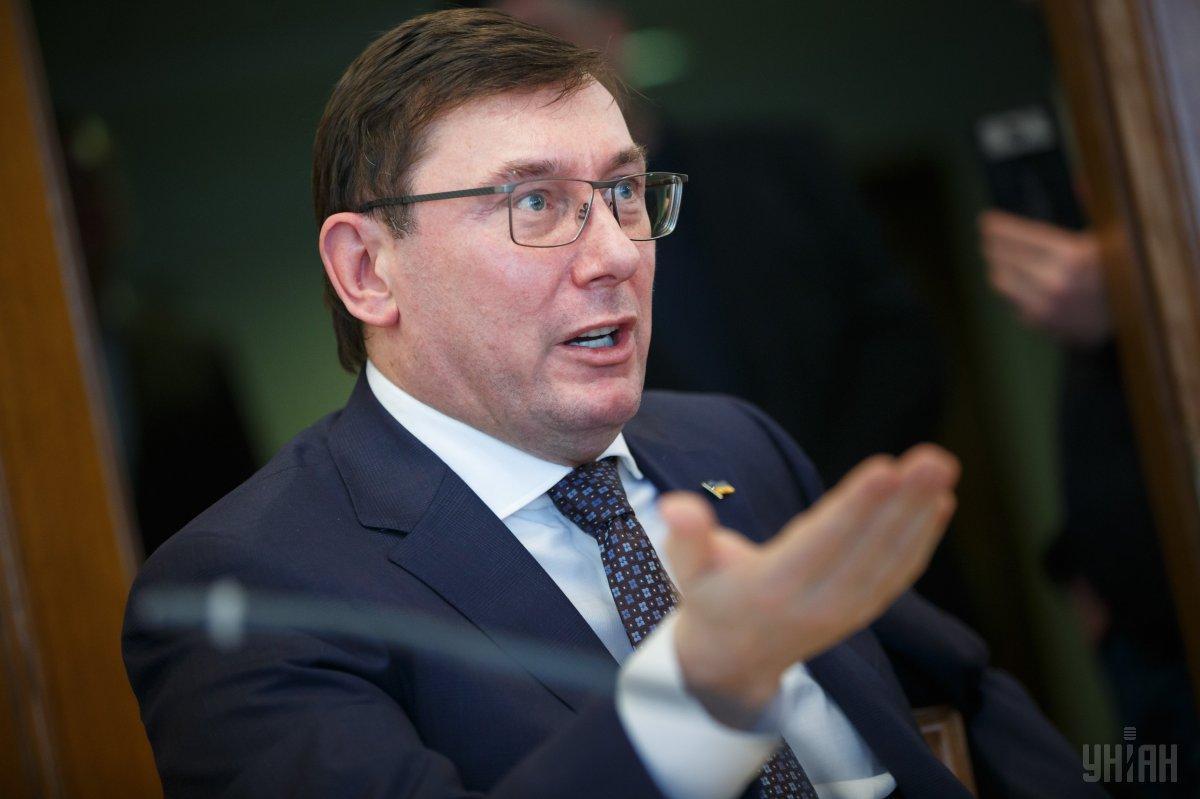 Представитель президента заявил, что на следующей неделе собираются уволить Луценко