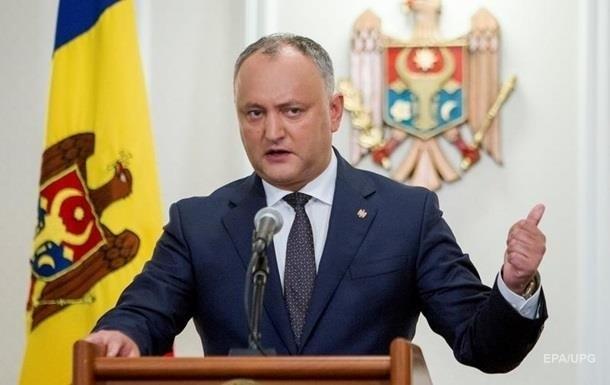 Президент Молдовы Игорь Додон отменил декрет о роспуске парламента