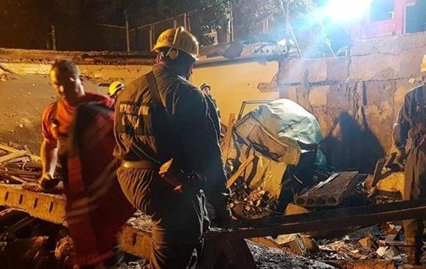 В Киеве на территории гаражей прогремел мощный взрыв