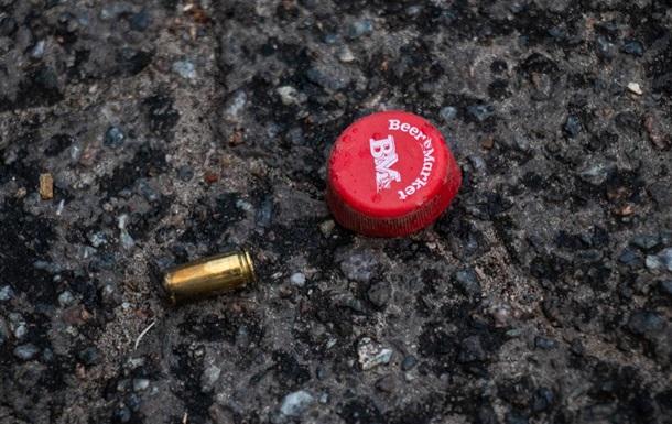 В Киеве  произошла стрельба, один человек получил огнестрельное ранение