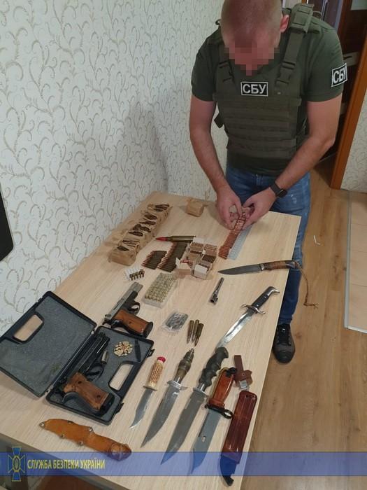 В Одесской области СБУ задержало торговца оружием, экс-военного служившего в АТО