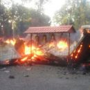 В Кривом Роге сгорела церковь Московского патриархата