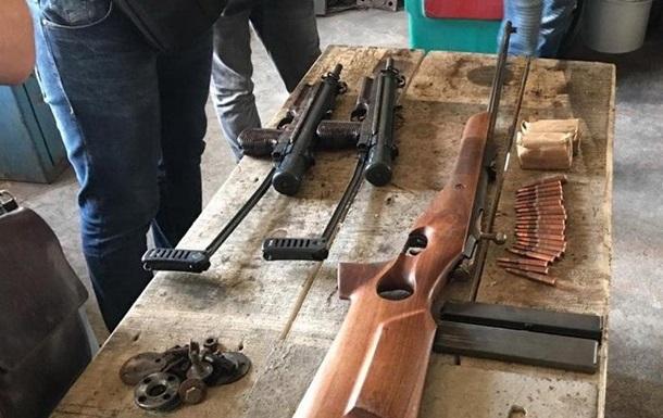 В Киевской области разоблачена деятельность торговцев оружием