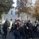 После стычки копов с националистами, во время мероприятия ЛГБТ-сообщества пострадали харьковские полицейские