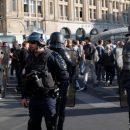 В Париже на протестах задержали 163 человека
