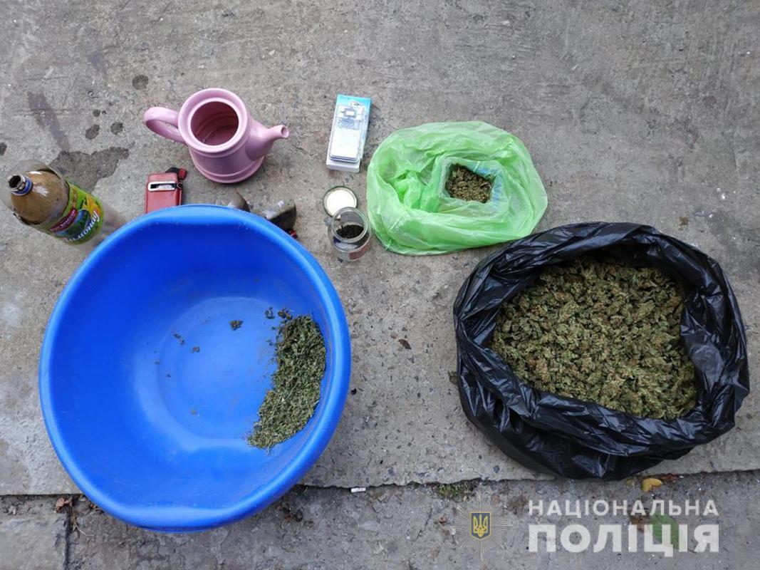 В Запорожье полицейские изъяли наркотики на сумму стоимостью более 100 тысяч гривен