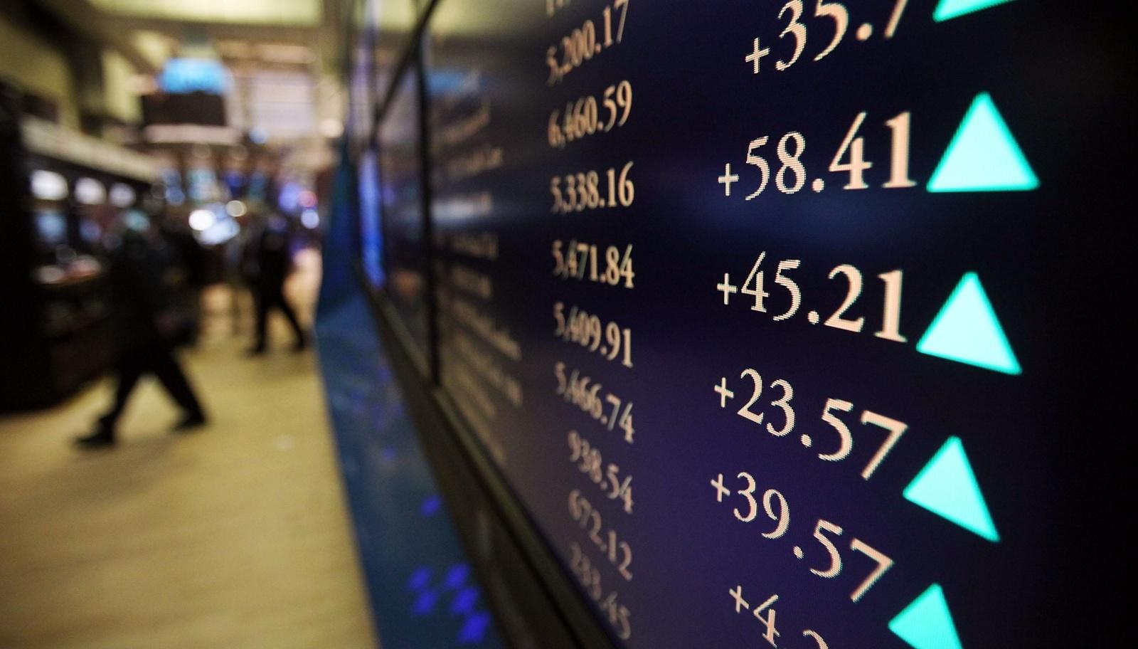 Торговля акциями на фондовом рынке