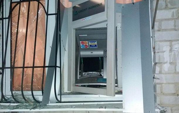 В Днепропетровской области взорвали банкомат
