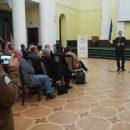 В Одессе в районной администрации на вечере памяти Бандере замечен человек с нашивкой СС «Тотенкопф»