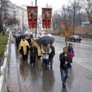 УПЦ КП провели крестный ход с требованием отменить ее ликвидацию