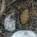 В Винницкая область: возле Дома культуры обнаружен рюкзак с боеприпасами