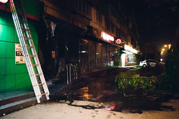 В  Киеве прошла серия поджогов