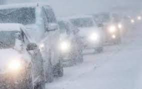 Снегопад спровоцировал  масштабное ДТП в Канаде