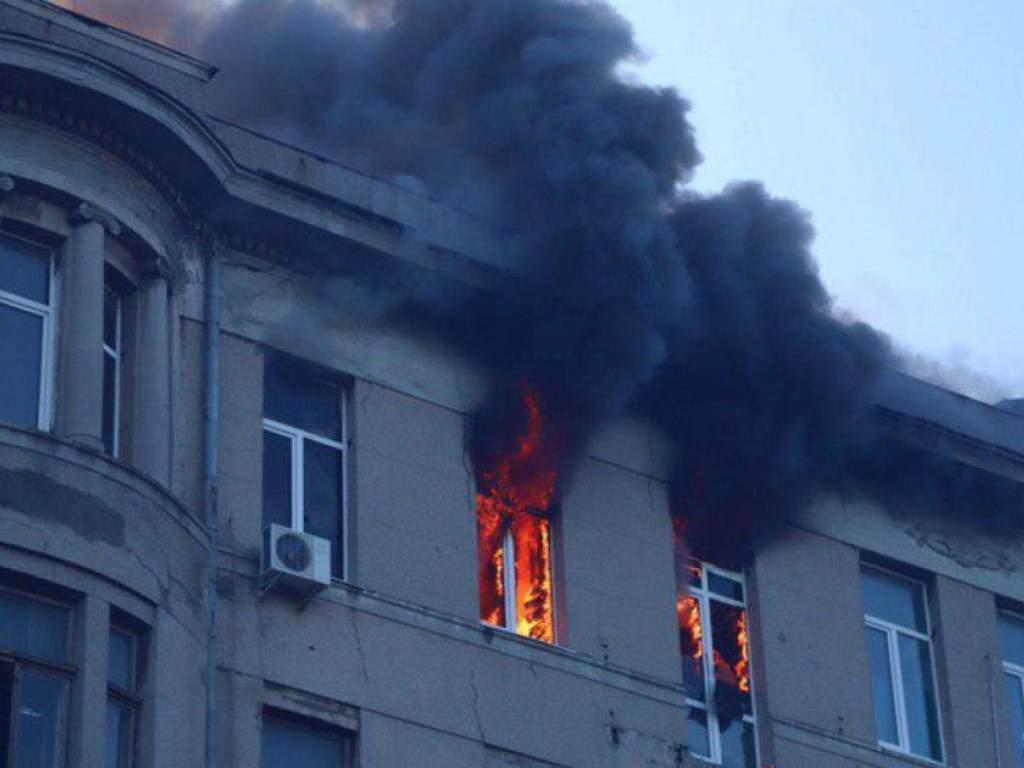 Пожар в одесском колледже: количество пострадавших дошло до 21 человека