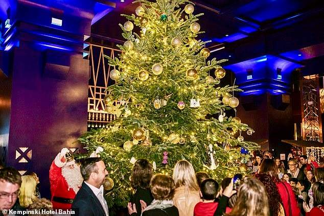 Известна стоимость самой дорогой в мире рождественской елки (ФОТО)