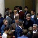 Депутаты «Слуги Народа» устроили кулачные разборки «на галерке» (ФОТО)