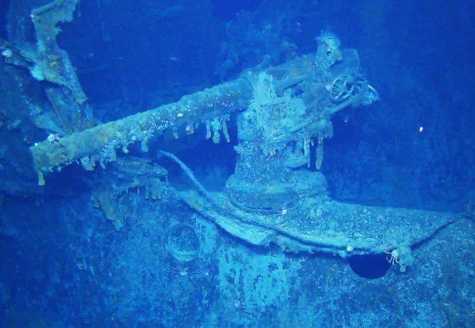 Найден немецкий линкор времен Первой мировой войны (ФОТО)