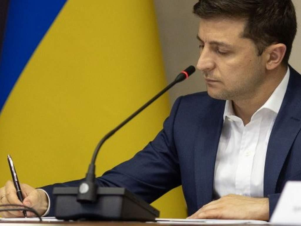 Зеленский поставил свою подпись под законом о госбюджете 2020
